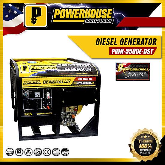 Diesel Generator (PWH-5500E-DST)