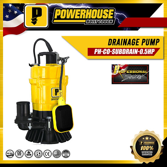 Drainage Clear Water Submersible Pump