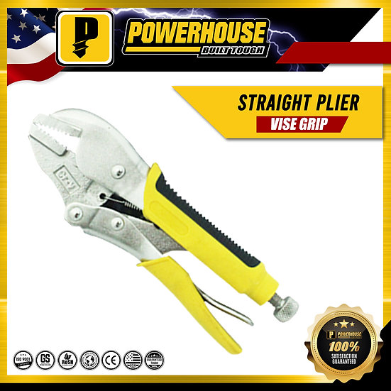 Straight Vise Grip Plier 7R