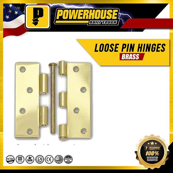 Loose Pin Hinges 3 1/2