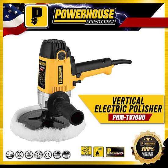 PowerHouse Vertical Electric Polisher 1,200W (PHM-TV7000)