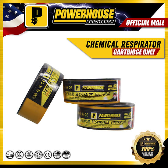 Chemical Respirator Cartridge Only