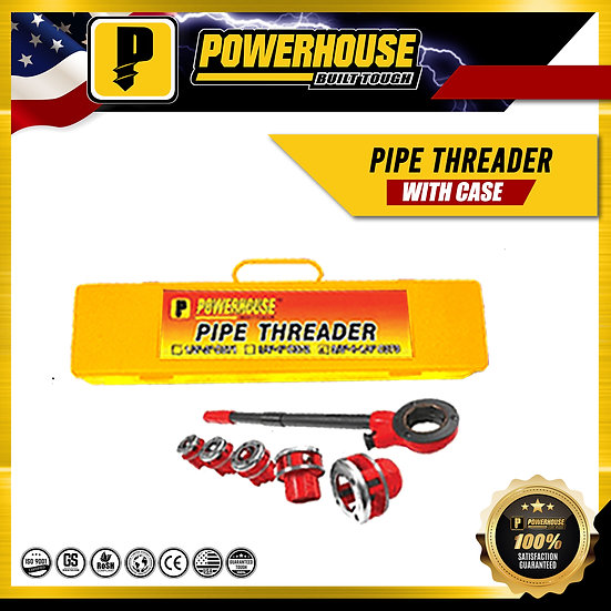 "Pipe Threader (1/2"" to 2"")"