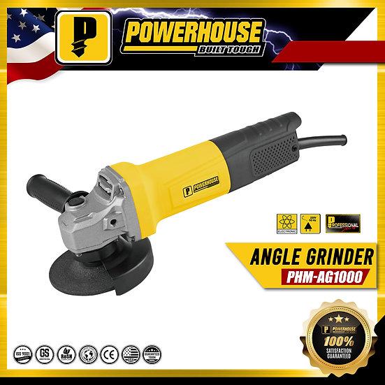 "PowerHouse Angle Grinder Torque Force Motor 1,000W 4"" (PHM-AG1000)"