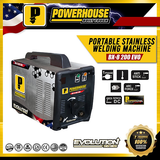 BX-8 200 Portable Stainless Welding Machine (Evolution Series)