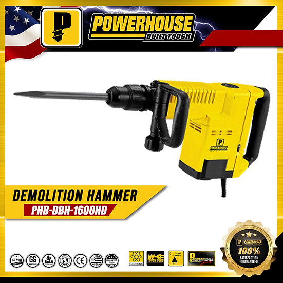 Demolition Hammer (PHB-DBH1600-HD)