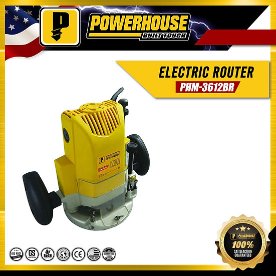 Electric Router (PHM-3612BR)