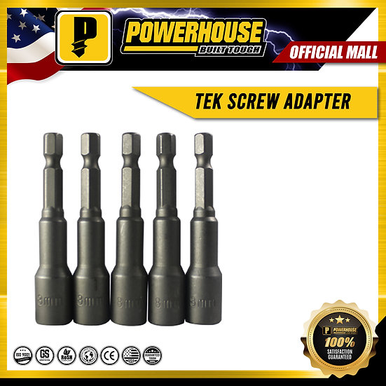 "Tek Screw Adapter with Magnet (8mm(5/16"") x 65mm(2-1/2"")"