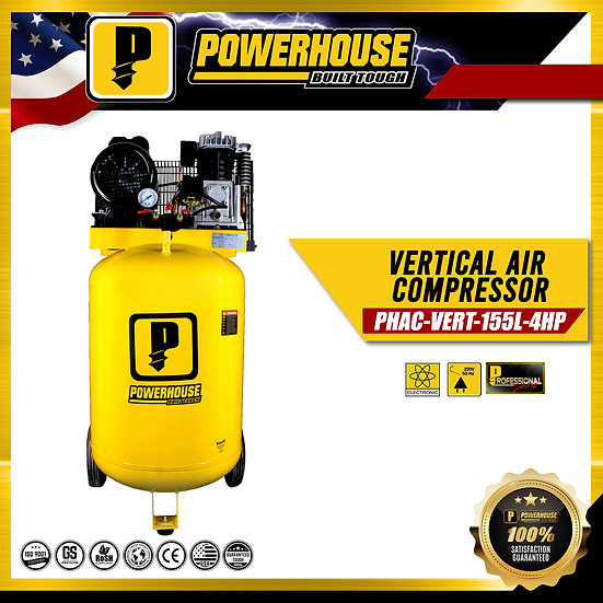 Vertical Air Compresor 4HP