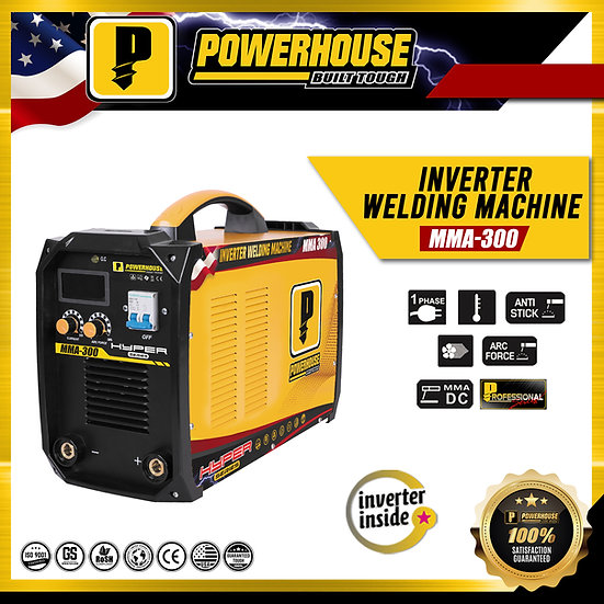 Portable Inverter Welding Machine (MMA 300)