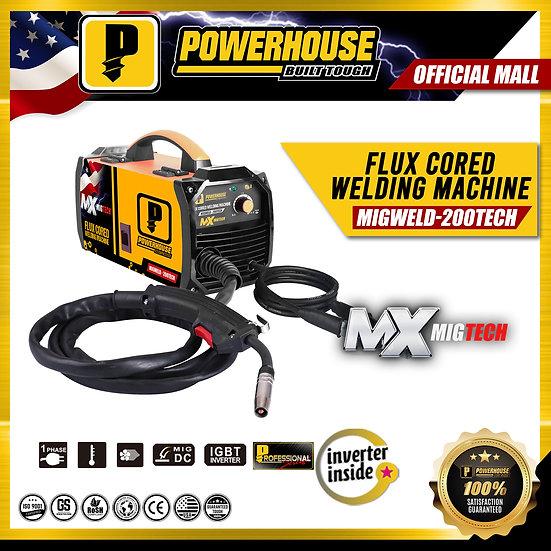 Flux Cored Welding Machine (MIGWELD-200TECH)