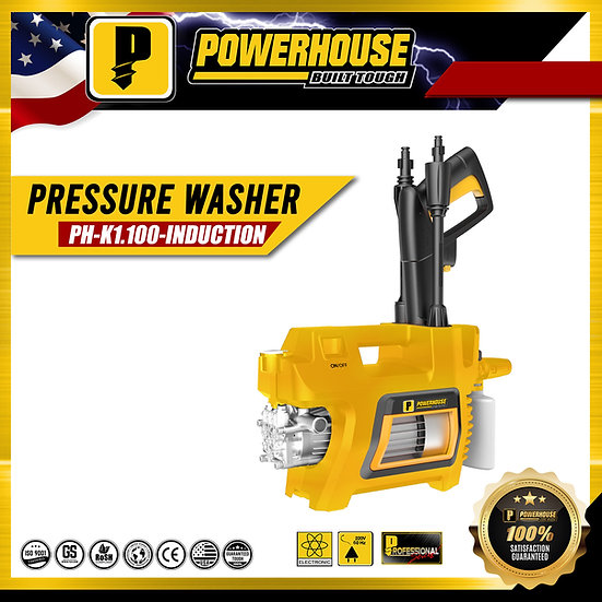 PowerHouse Portable Pressure Washer Induction Type 1,400W (PH-K1.100-INDUCTION)