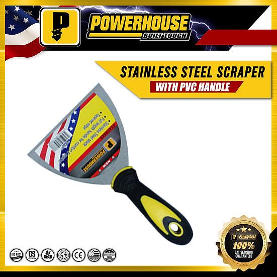 "Stainless Steel Scraper (6"" E528)"