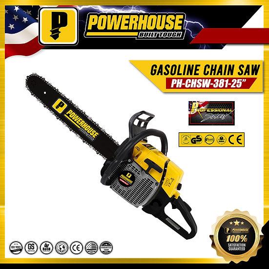 "Gasoline Chain Saw 25"""