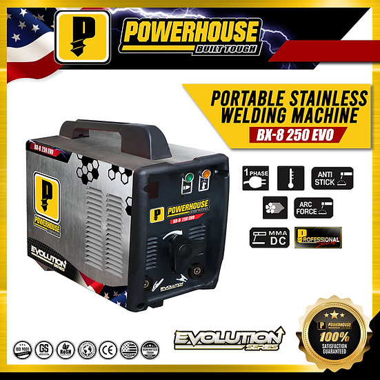 BX-8 250 Portable Stainless Welding Machine (Evolution Series)