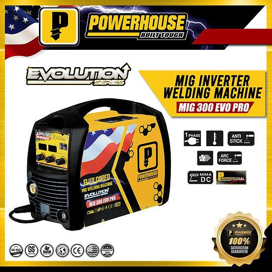 MIG Inverter Welding Machine (MIG 300 EVO PRO)