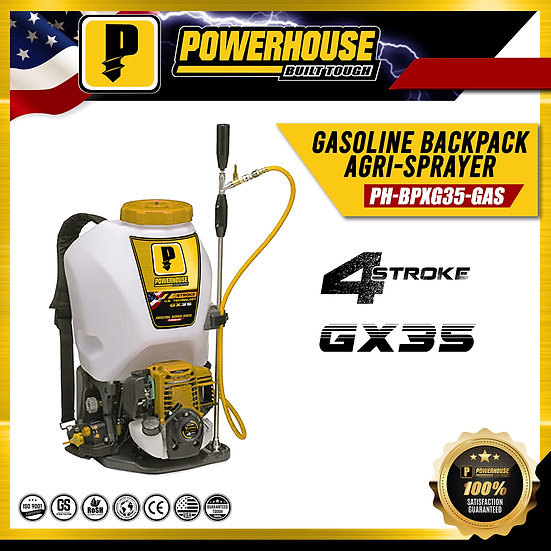 Gasoline Backpack Agri-Sprayer