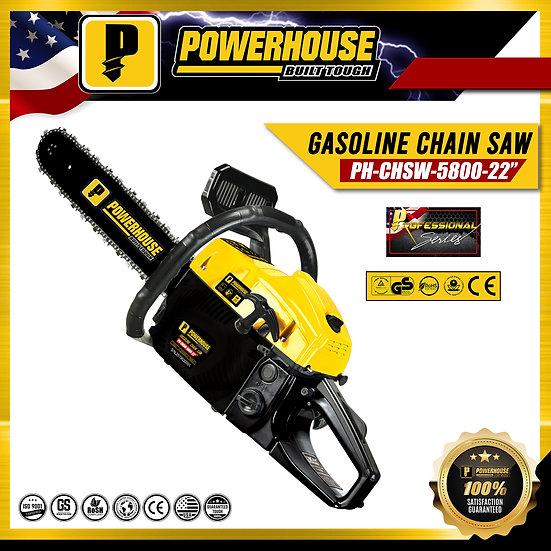 "Gasoline Chain Saw 22"""
