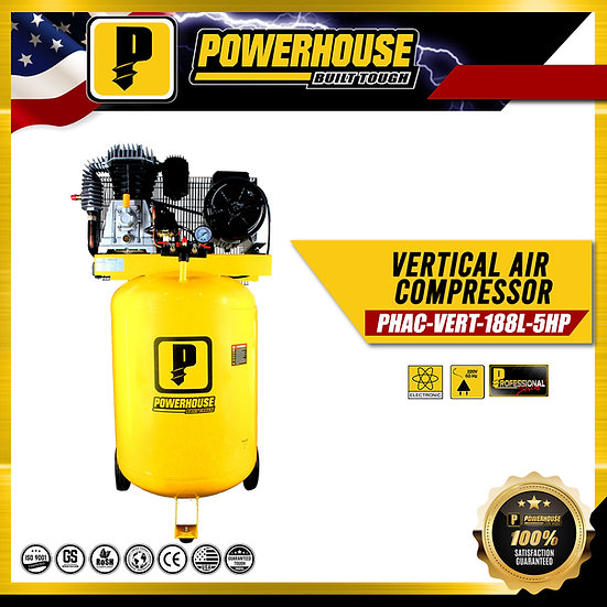 Vertical Air Compresor 5HP