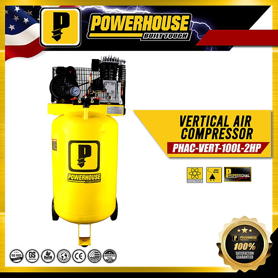 Vertical Air Compresor 2HP