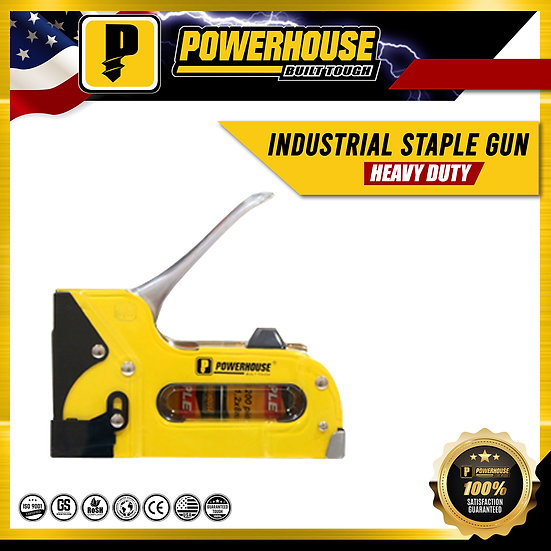 Industrial Staple Gun (Heavy Duty)