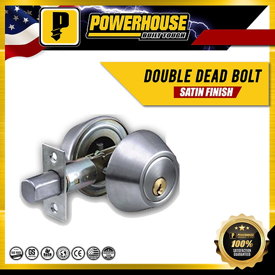 Double Deadbolt (Satin Finish)