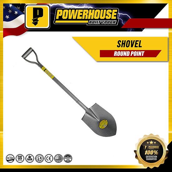 Round Point Shovel