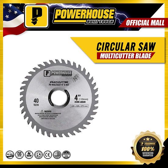 "Circular Saw Multi-cutter Blade (4"" x 40T)"