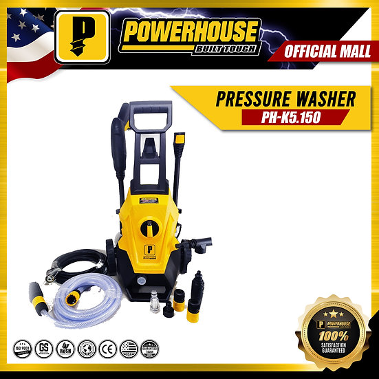 PowerHouse High Pressure Washer  (PH-K5 150)