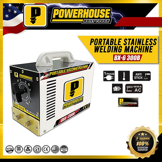 Portable Stainless Welding Machine (BX6-300B)