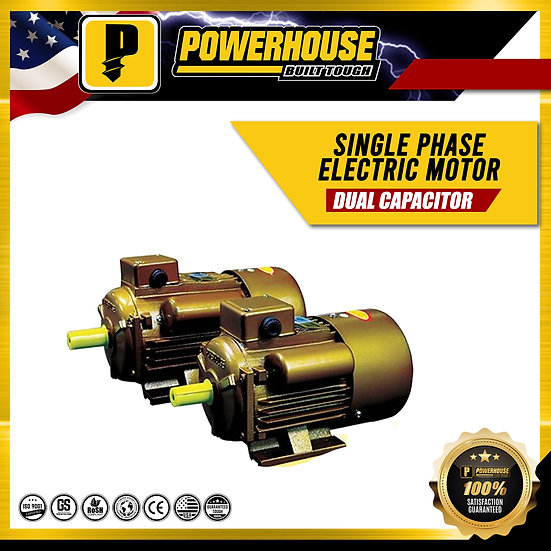 Single Phase Electric Motor 1.5HP