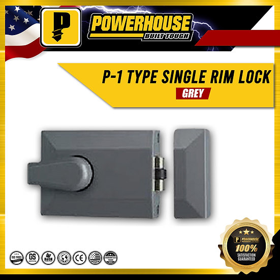 P-1 Type Single Rim Lock