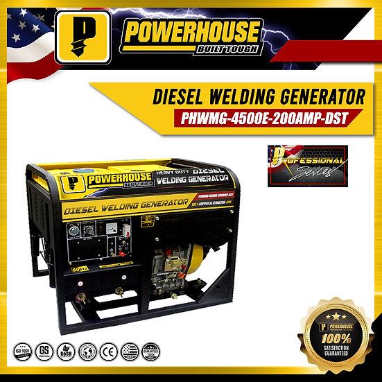 Diesel Welding Generator (PWHMG-4500E-200AMP-DST)