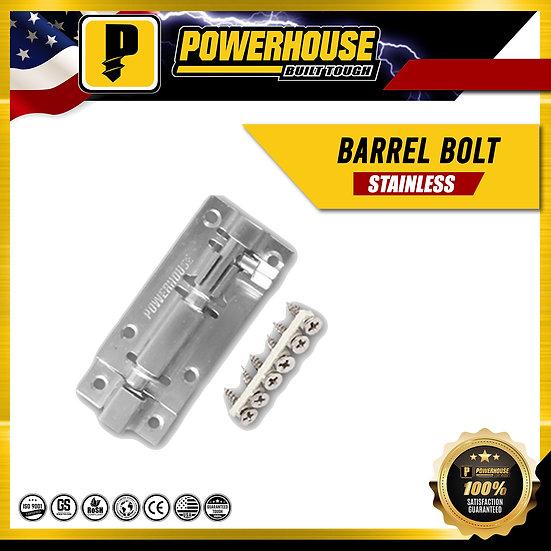 Stainless Barrel Bolt w/ screw 3