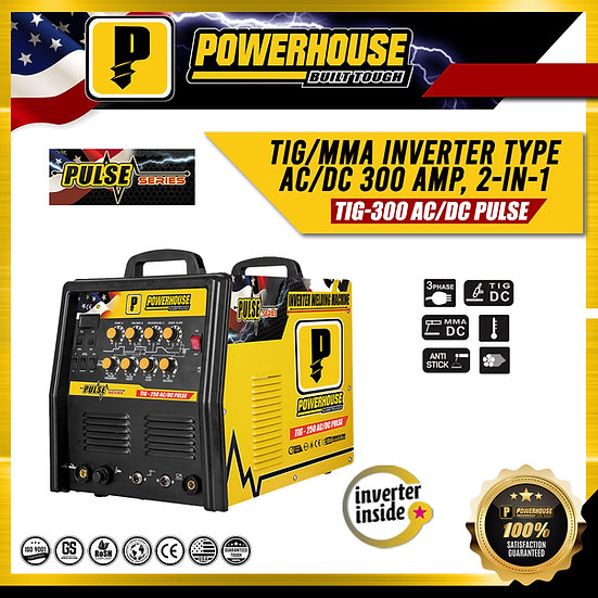 TIG Inverter Welding Machine (TIG-300 AC/DC PULSE)
