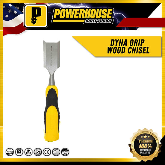 "Dyna Grip Wood Chisel (1/2"")"