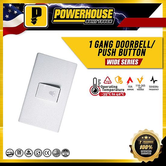 1 Gang  Doorbell/ Push Button