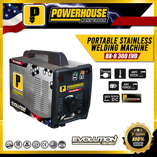 BX-8 300 Portable Stainless Welding Machine (Evolution Series)