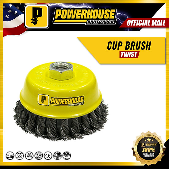 Cup Brush (Twisted)