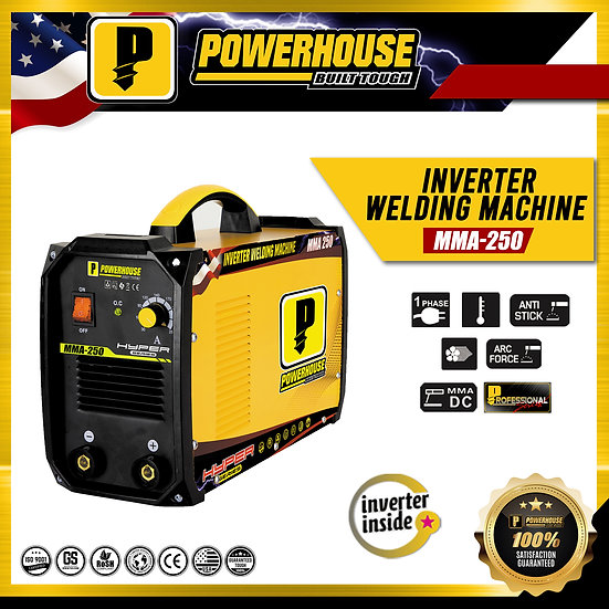 Portable Inverter Welding Machine (MMA 250-INVERTER)