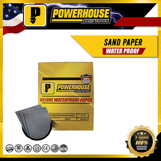 Waterproof Sanding Paper No.80