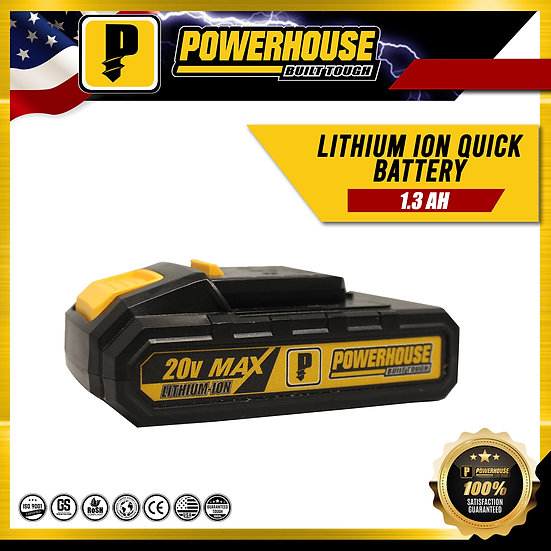 1.3 AH Lithium Ion Quick Battery