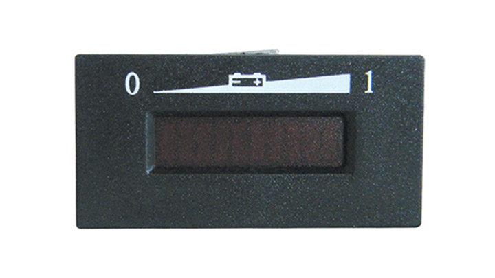 Charge Meter, 48V Horizontal Digital