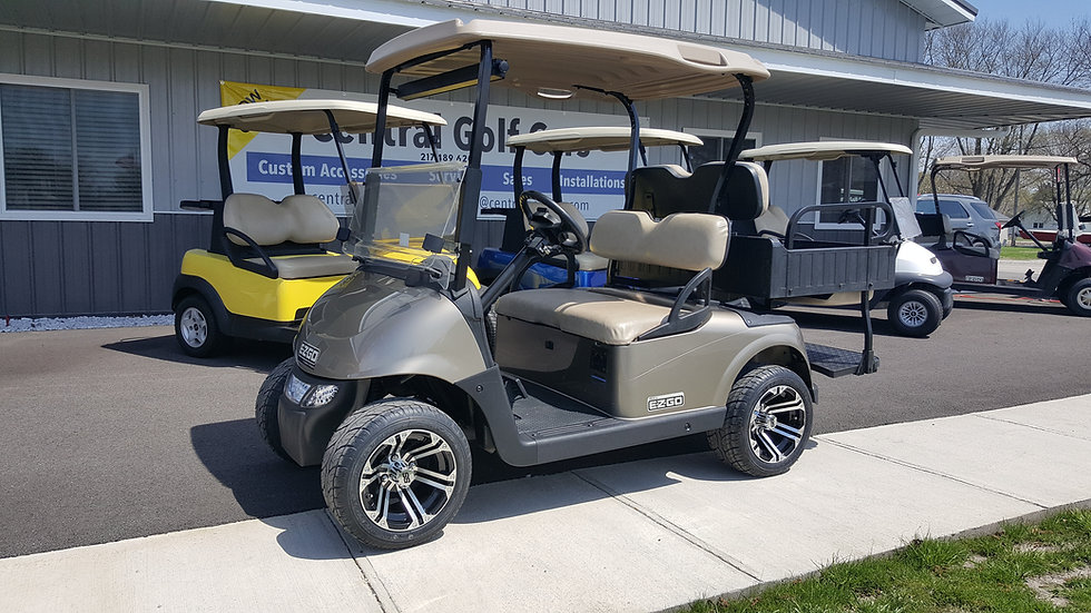 2013 EZ Go RXV 48V Utility Golf Cart, Street Legal