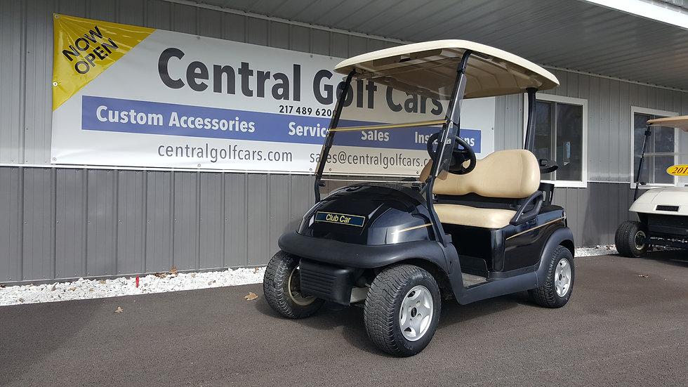 2012 Club Car Precedent 48V Golf Cart:Black