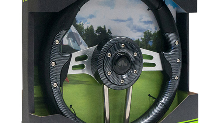 Steering Wheel, Aviator 4 Carbon Fiber 13""