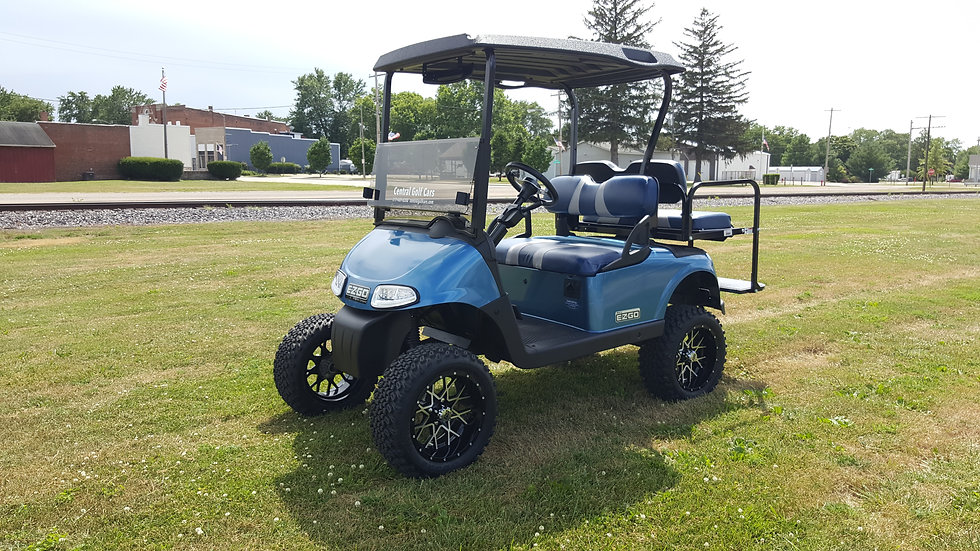 2013 EZ Go RXV 48V Lifted Street Legal Golf Cart