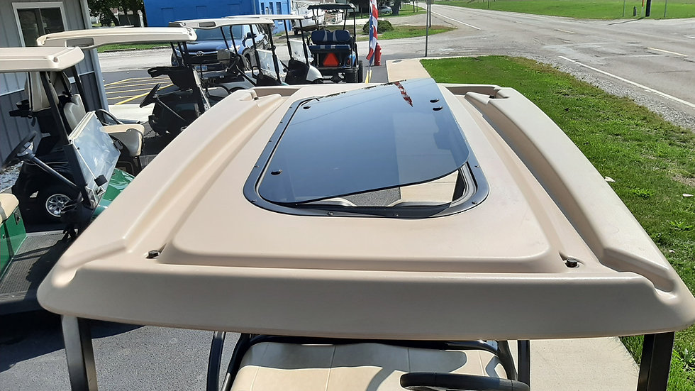 2016 EZ Go RXV Indy Special Chopped Top Sunroof Hot Rod