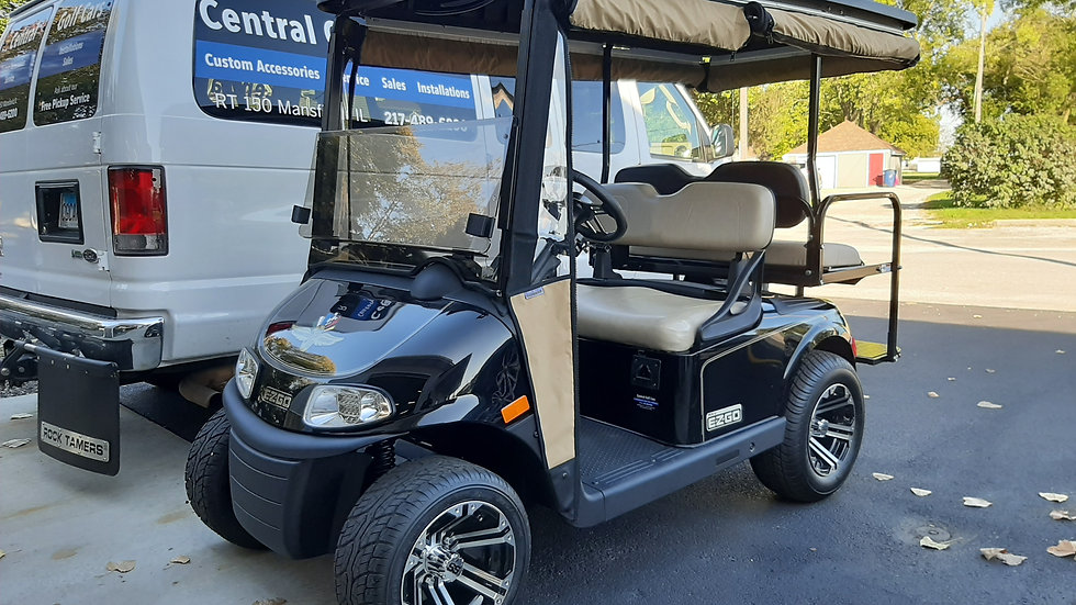 2016 EZ Go RXV Indy Speedway Cart with full enclosure, Street Legal