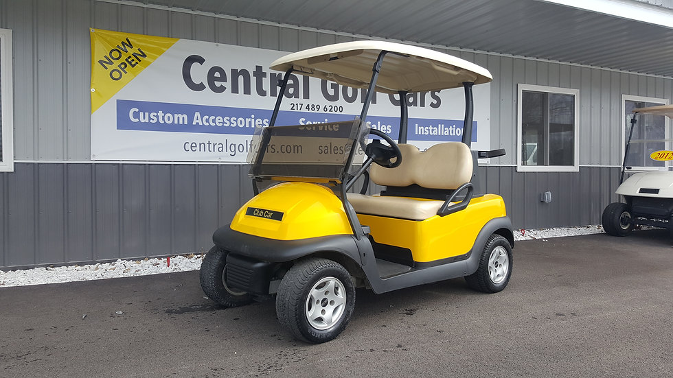 2012 Club Car Precedent 48V Golf Cart:Yellow